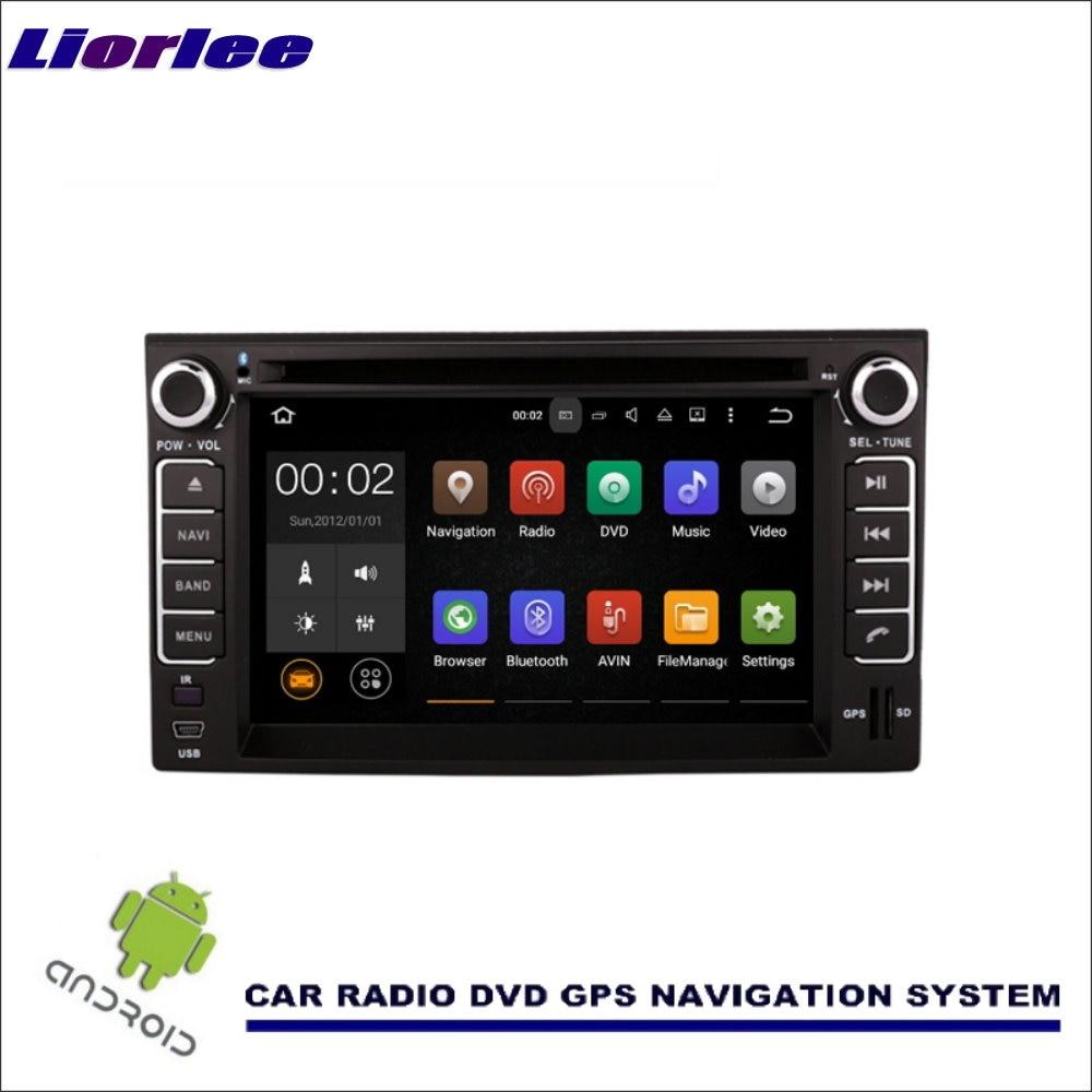 Liorlee para Kia orgullo Sedan 2005-2011 Wince / Android coche medios de navegación CD reproductor de DVD GPS Navi Radio Multimedia estéreo TV BT