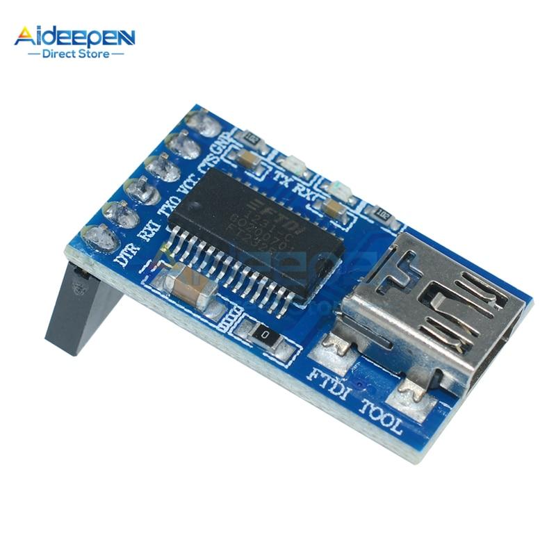 DC 3,3 V 5V FTDI básica de adaptación de USB a TTL del CMM adaptador de programador 6 Pin módulo para Arduino