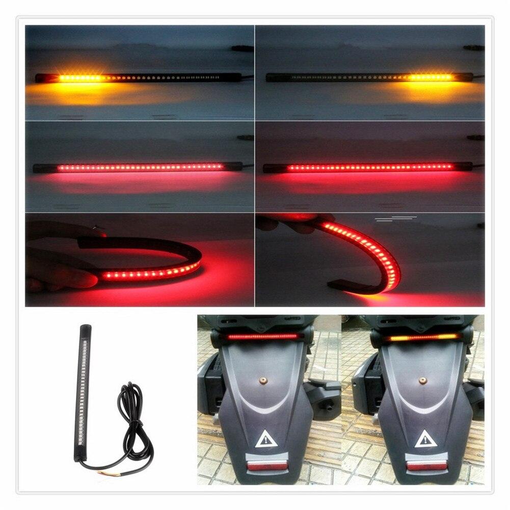 Tira de motocicleta LED Freno de cola Luz de señal de giro para HONDA VTR1000F FIRESTORM CBR125R CBR300R CB300F FA