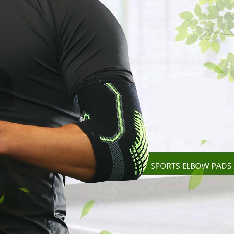 2 pièces respirant coude protecteur Pad volley-ball basket-ball Tennis Badminton bras soutien manchon Sport cyclisme coude garde plus chaud