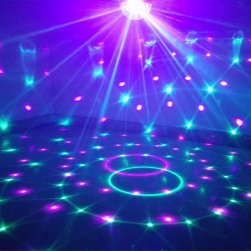 2021 Lumino Party Disco Multi Color Lights Ball LED Stage Club DJ Декор С Пульт