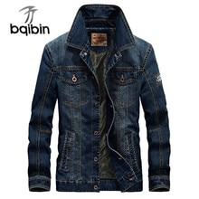 2021 Autumn Men's Fashion Casual Brand High Quality Cowboy Jacket Coat Men Spring Denim Blue Jackets