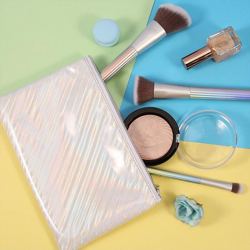 Cosmetic Bag Small Capacity Women Make Up Case Travel Zipper Portable Makeup Bag