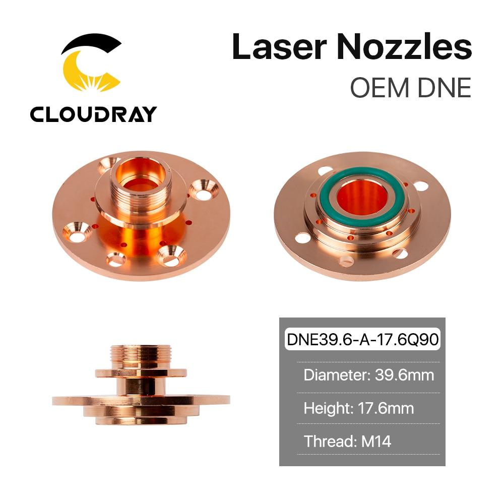 G Soort DN-2 End Connector Q90 Hoogte 12.3 Mm 17.6 Mm Voor Fiber Laser Snijmachine