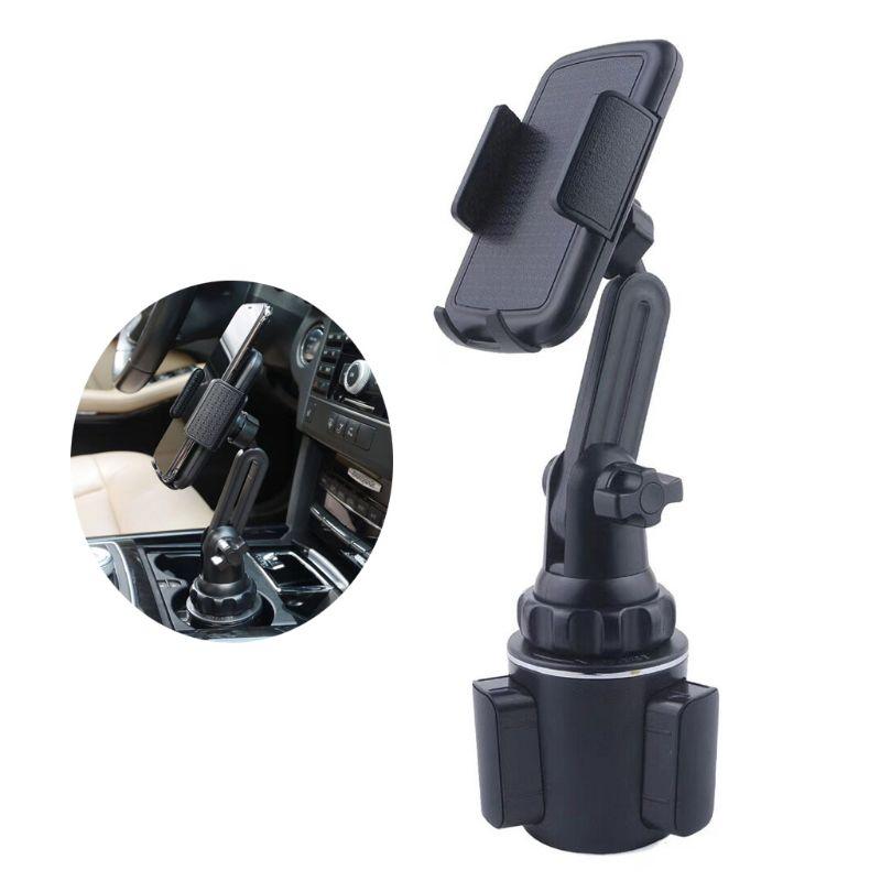 "Car Cup Holder Phone Mount Adjustable Angle Neck Holder for 3.5""-6.5"" Cellphone"