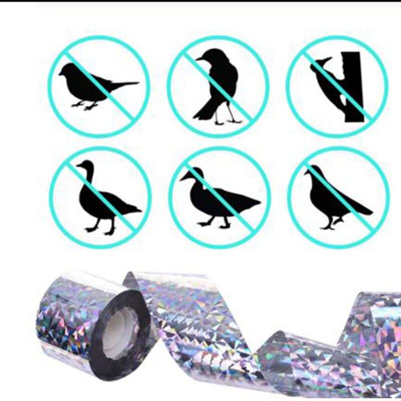 2020 novo Anti Pássaro Fita Fitas Fita Fita Assustar Aves Pombos Repelente Sonoro Repelente de Raposa para o Controle de Pragas