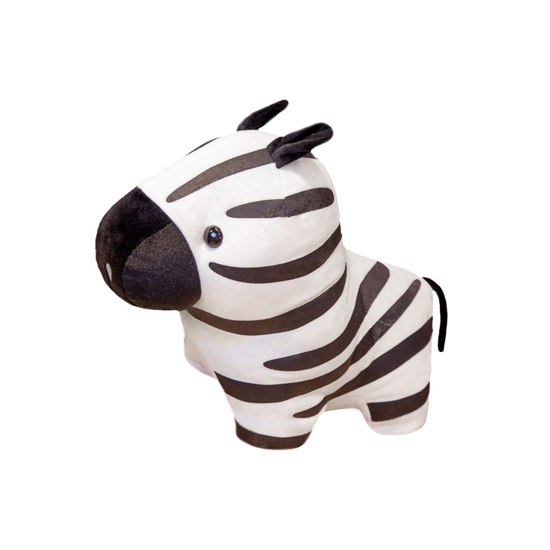 holiday gift plush toy barto duck dog lula ellie elephant doll Zebra Doll New Forest Series Zebra Doll Simulation Horse Plush Toy Cartoon Doll Children Gift Birthday Gift Holiday Gift