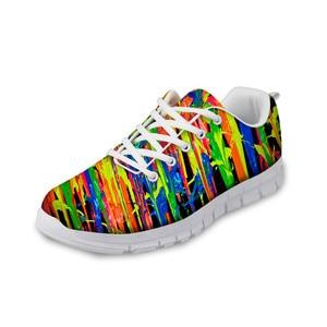 HaoYun Woman Flats Shoes 3D Fantasy Design Pattern Casual Women's Sneakers Zapatos Mujer Girls Lightweight Mesh Walking Shoes