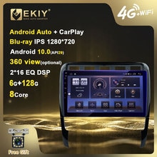 EKIY Blu-ray IPS DSP Android 10 Car Radio For Porsche Cayenne Navigation GPS Multimedia DVD Player A