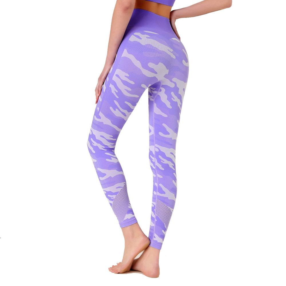 Women Fitness Seamless Leggings Push Up Fashion Pants High Waist Workout Jogging For Women Athleisure Training Leggings 6203