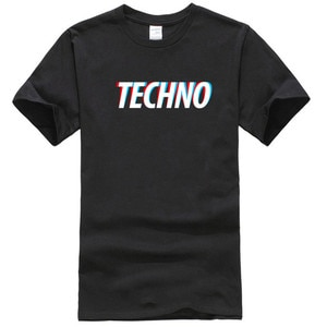 techno t shirt designer Short Sleeve Crew Neck Outfit Fitness Funny Summer Style cool shirt2021 High quality Brand T shirt Casua