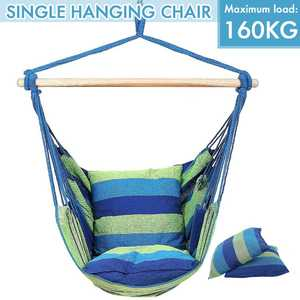 Max load 160kg Hammock Chair Outdoor Indoor Dormitory Bedroom Yard For Child Adult Swinging Hanging Single Safety Chair Hammock