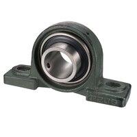 uxcell UCP208 UCP209 UCP2010 40mm 45mm 50mm Bore Diameter Pillow Block Bearing Set screw Lock Cast Iron/Chrome Steel