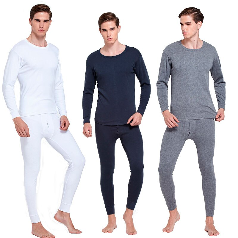 Male Elastic Cotton Underwear Mens Thermal Underpants Warm Leggings Man Long Clothing High Quality L