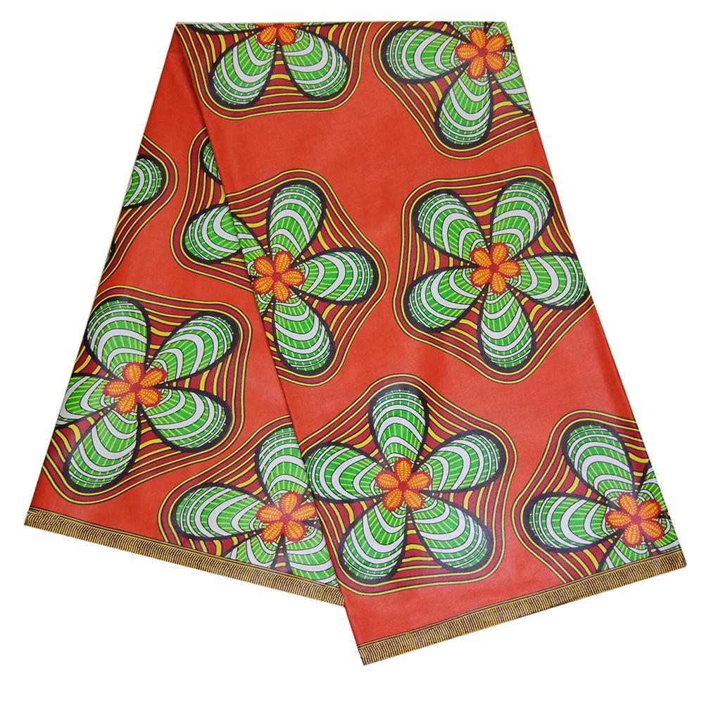 Ткани kente 6 ярдов, искусственная ткань Анкары, оптом, хлопковая африканская восковая ткань для платья