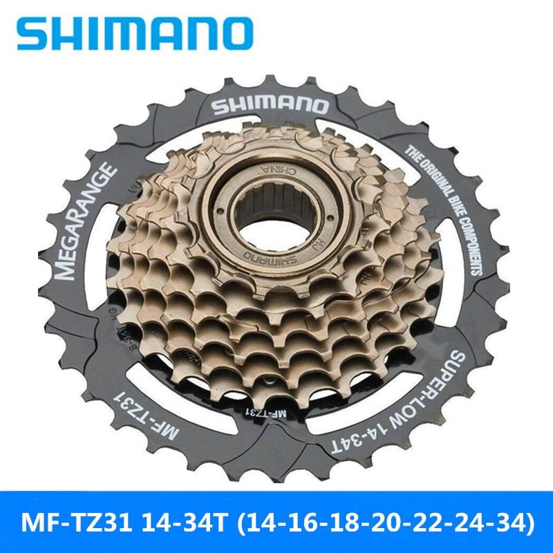 SHIMANO MF-TZ31 mountainbike rotierenden 7-speed schwungrad 14-34T kompatibel SHIMANO HG/UG kette marke neue original