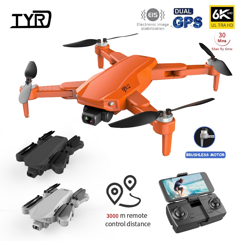 2021 New S608 Pro Rc Drone 6K HD Dual Camera with GPS 5G WIFI FPV real-time transmission brushless motor professional quadcopter