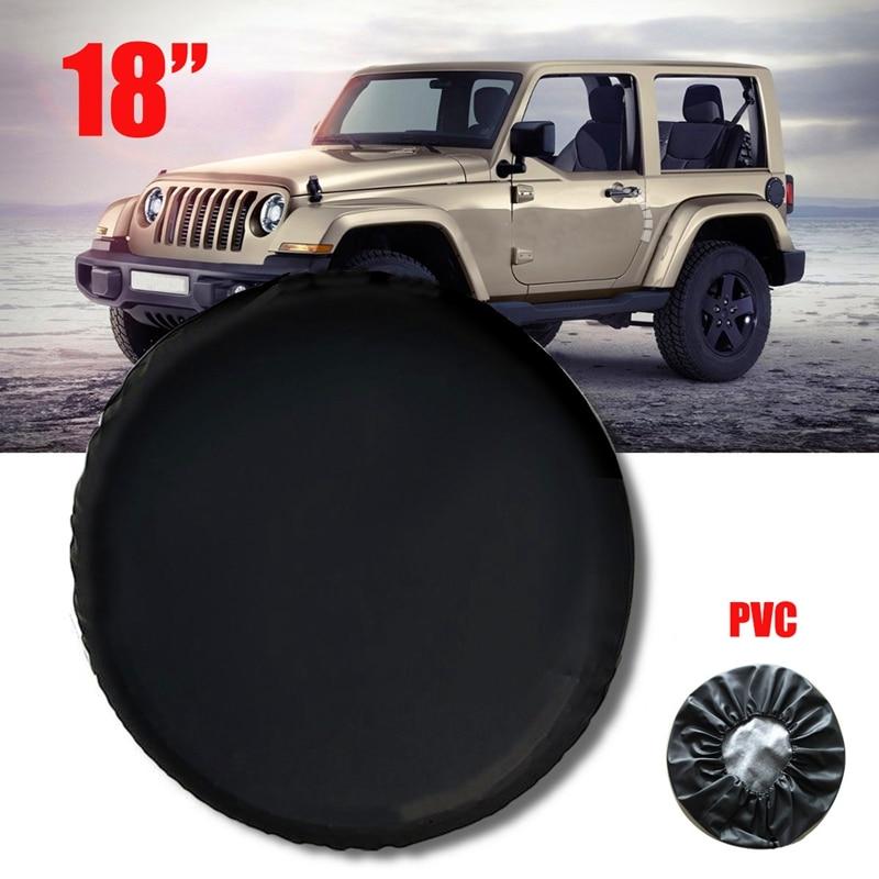Funda protectora suave para neumático de rueda de repuesto de 18 pulgadas para neumático Jeep Wrangler 33 pulgadas-35 pulgadas