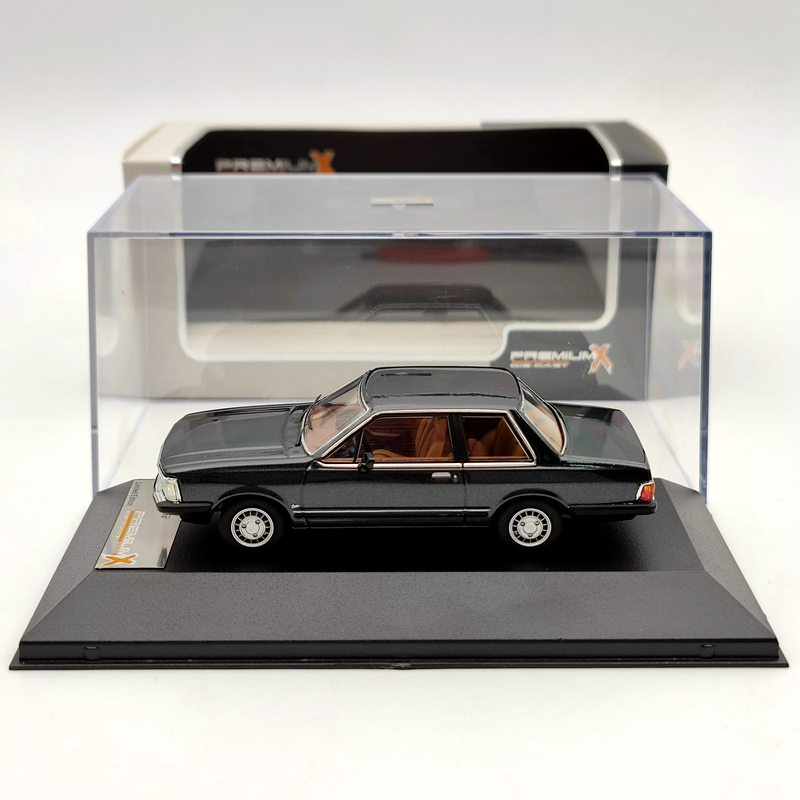 Premium X 1:43 For Ford Del Rey Ouro Dark Grey 1982 PRD238 Diecast Models Car Limited Edition Collection Auto Toys Gift ixo altaya 1 43 scale ford mustang shelby gt 350h 1965 cars diecast toys models limited edition collection white