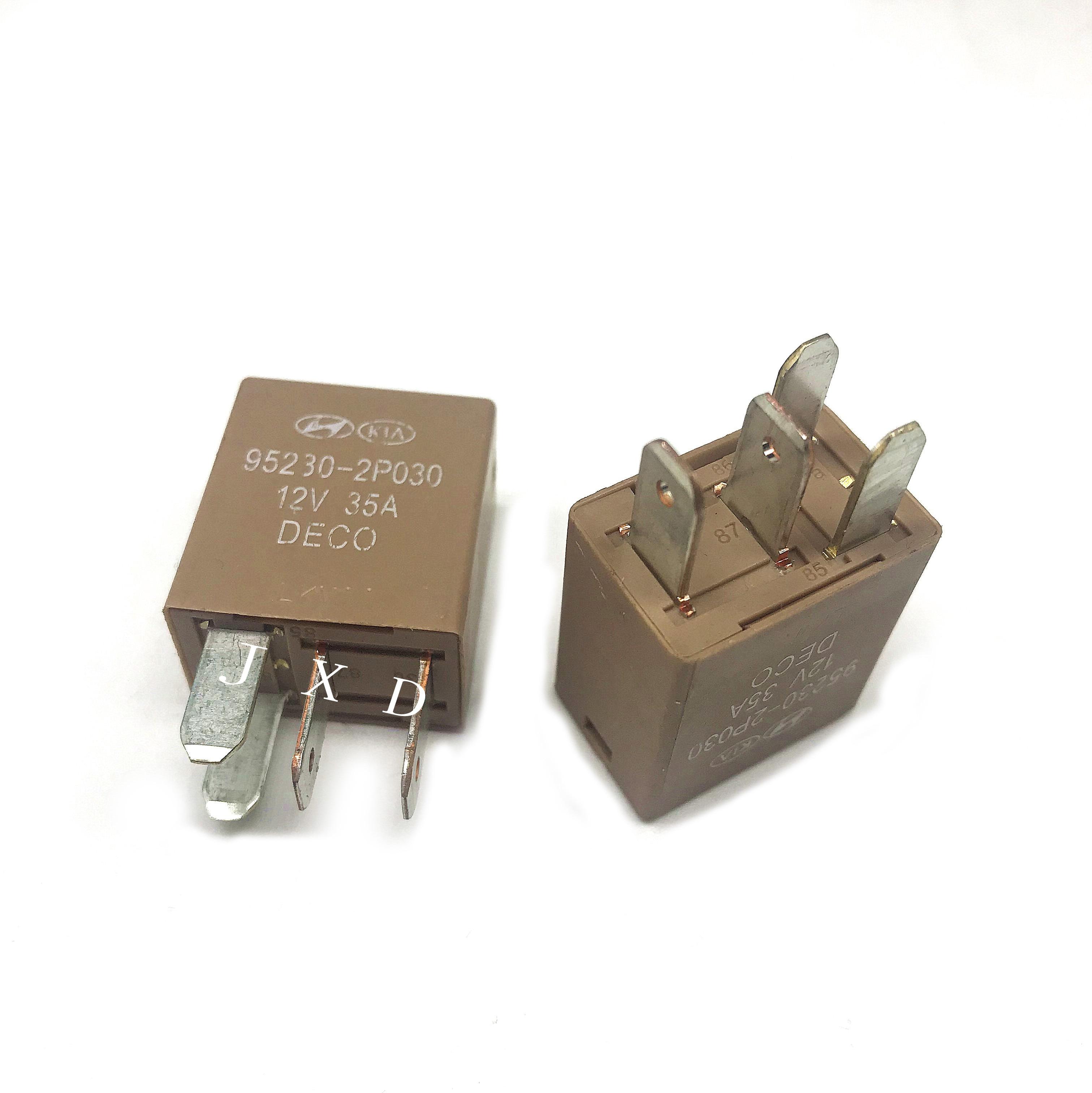 HOT NEW air conditioner fan relay 12V relay 95230-2P030 952302P030 95230 2P030 35A 12VDC DC12V 12V4PIN