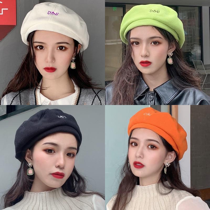 New Painter Beret Women's Spring and Autumn Korean Fashion Octagonal Beret British Retro Korean Type