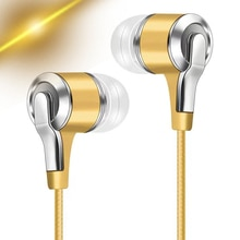 3.5mm Wired Headphones With Bass Earbuds Stereo Earphone Music Sport Gaming Headset With mic For Xia
