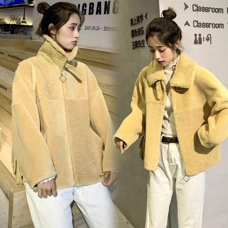 Simple Fashion Trend Autumn 2021elegant Woolen Coat Loose Long Sleeve Temperament