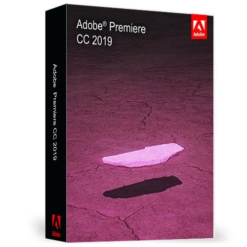 Logiciel PREMIERE CC 2019 un logiciel de Post-traitement de montage vidéo professionnel Win/Mac