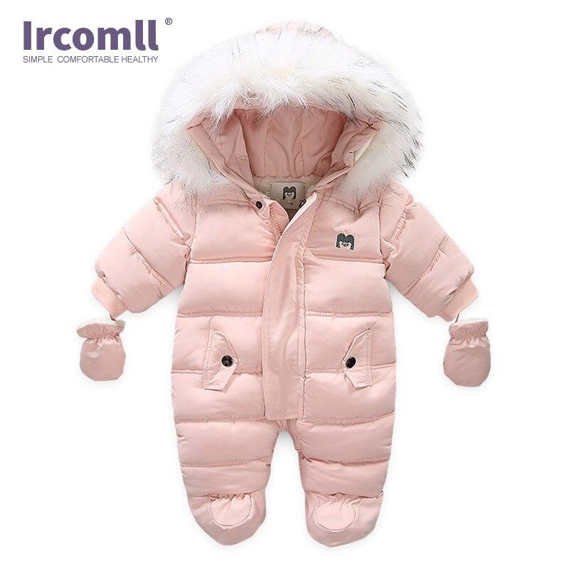 Ircomll/толстый теплый детский комбинезон с капюшоном внутри; Флисовый комбинезон для мальчиков и девочек; Сезон осень-зима; Детская верхняя одежда; Детский зимний комбинезон