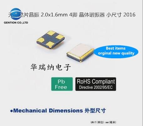 30 Uds 100% chip de cristal pasivo nuevo y original 2016 26M 26MHZ 26.000MHZ FA-128 de gran temperatura 15PF