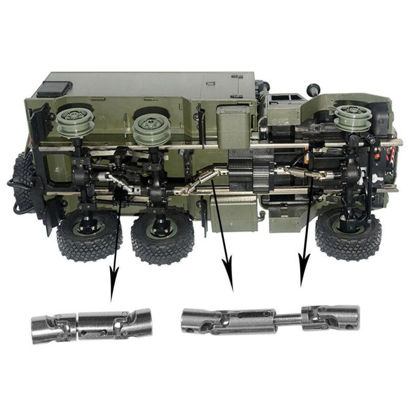 3pcs RC Car Upgrade Metal Drive Shaft Tool For WPL B36 B16 6WD 1/16 RC Car Kit Set DIY Accessories Parts enlarge