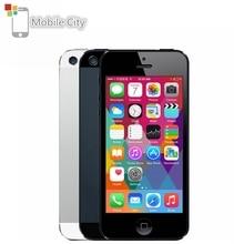 IPhone 5 téléphone portable débloqué 16 GB/32 GB/64 GB ROM IOS 4.0 pouces 8MP WIFI GPS 100% Smartphone dorigine Apple