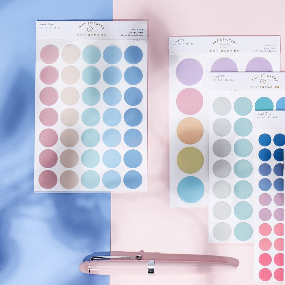 20 set/lote kawaii papelaria adesivos de sal doces cor diário planejador decorativo móvel adesivos scrapbooking diy artesanato adesivos