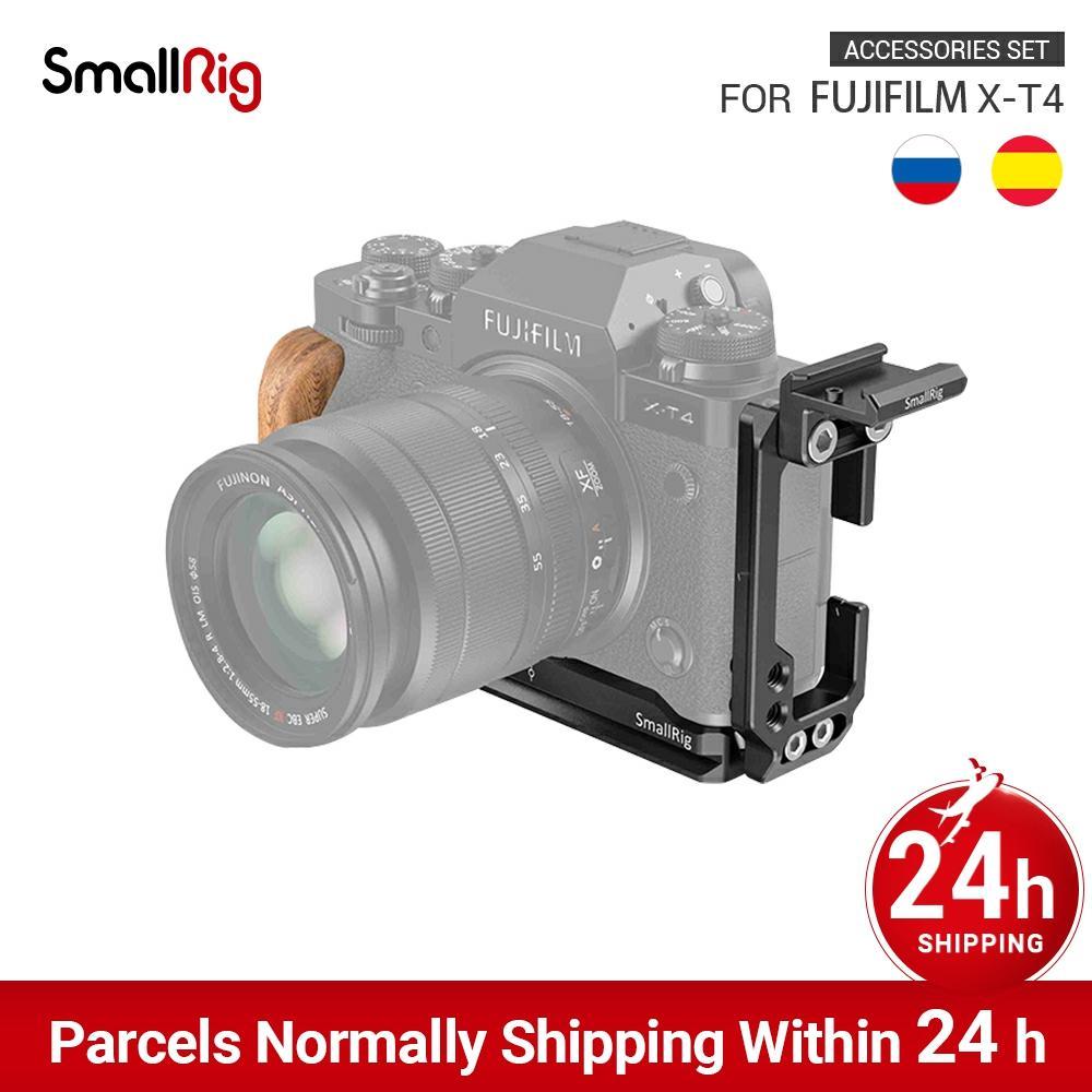 Smallrig Camera L Shape Grip Beacket&Cold Shoe Mount Kit For Fujifilm X-T4 3148