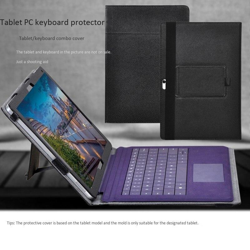 Para chuwi surbook caso 12.3 Polegada tablet/teclado 2-em-1 caso de couro anti-gota capa protetora