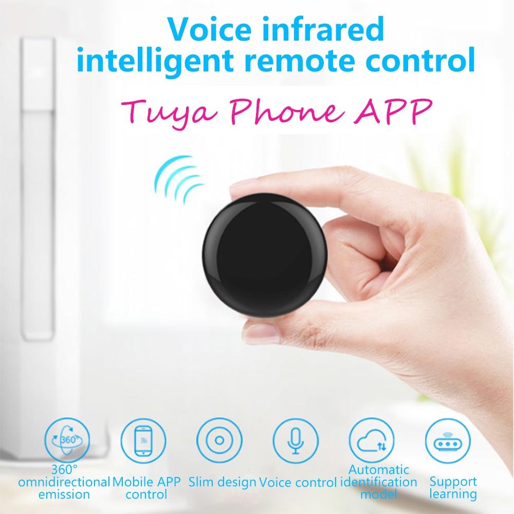 14w ir remote control red Wifi-IR Remote Control Tuya 14m Smart IR Wireless Alexa Control 10,000 Product Furlife Remote Control TV Voice Remote Control