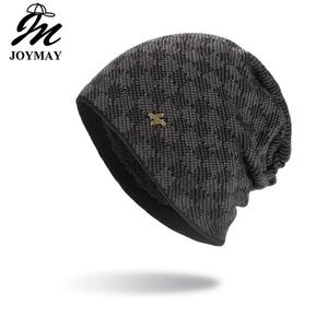 Joymay New arrival Winter Beanies Hat Unisex Classic Warm Soft Skullies Knitting Hats For Men Women WM132