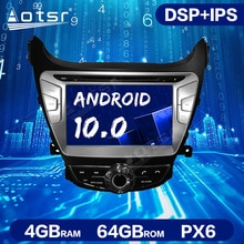 Android 10.0 4GB+64GB DSP Car Multimedia Radio For Hyundai Elantra Avante I35 Car GPS Navigation Unit  Auto Stereo Head Unit ISP