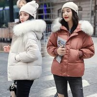 fall and winter 2019 new down cotton clothes womens korean edition short loose and thickened studentscotton clothes