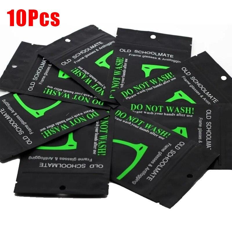 10pcs Universal Women Men Anti Fog Wipe Reusable Cloth for Glasses Swim Bicyle Goggles Unisex Glasses Lens Cloth