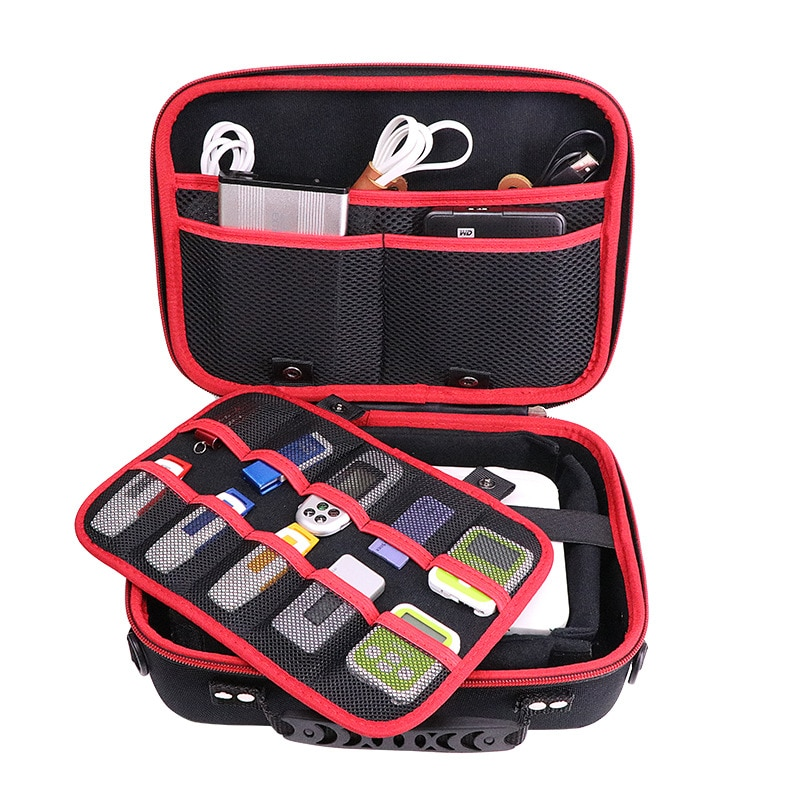 منظم محرك أقراص USB كبير الحجم مقاس 3.5 بوصة ، حافظة ملحقات إلكترونية ، حقيبة محرك أقراص صلبة HDD ، كمبيوتر صغير ، جهاز لوحي ، ماوس ، Ipad