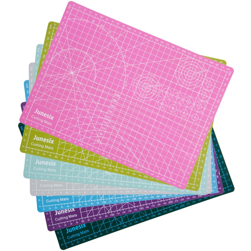 Large paper cutting pad A3/A4 children's cutting pad with scale compound PVC non-marking cutting pad mouse pad