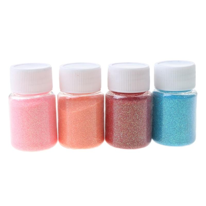 15 Color Shiny Sequins Glitter Crystal Epoxy Filler Slime Dye Powder Pigments 87HC