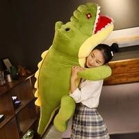 plush toy simulation fat crocodile lazy hippo doll sleeping pillow rag doll doll children birthday gift