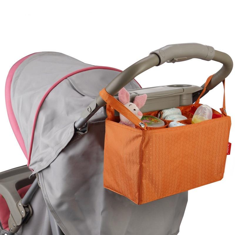 Baby Stroller Accessories Bag New Cup Bag Stroller Organizer Baby Carriage Pram Buggy Cart Bottle Bag Car Bag