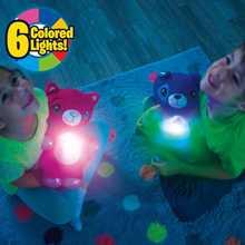 Проектор звездный для ночной съемки, игрушка плюшевая Звездная Галактика, проекционный подарок для ребенка, Успокаивающая игрушка, светитс...