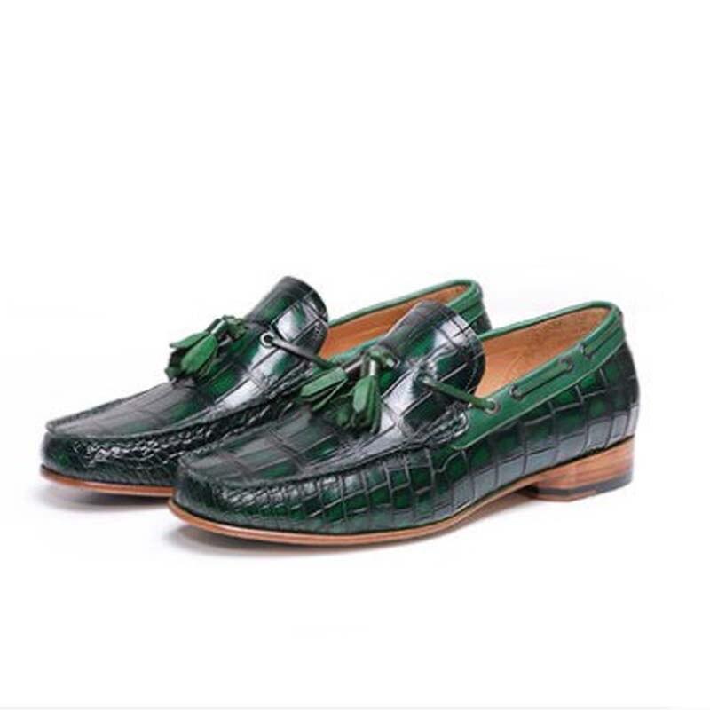 Ouلوير التمساح دوغ أحذية التمساح الأحذية الذكور الترفيه الاتجاه أحذية رجالي أحذية الرجال دوغ