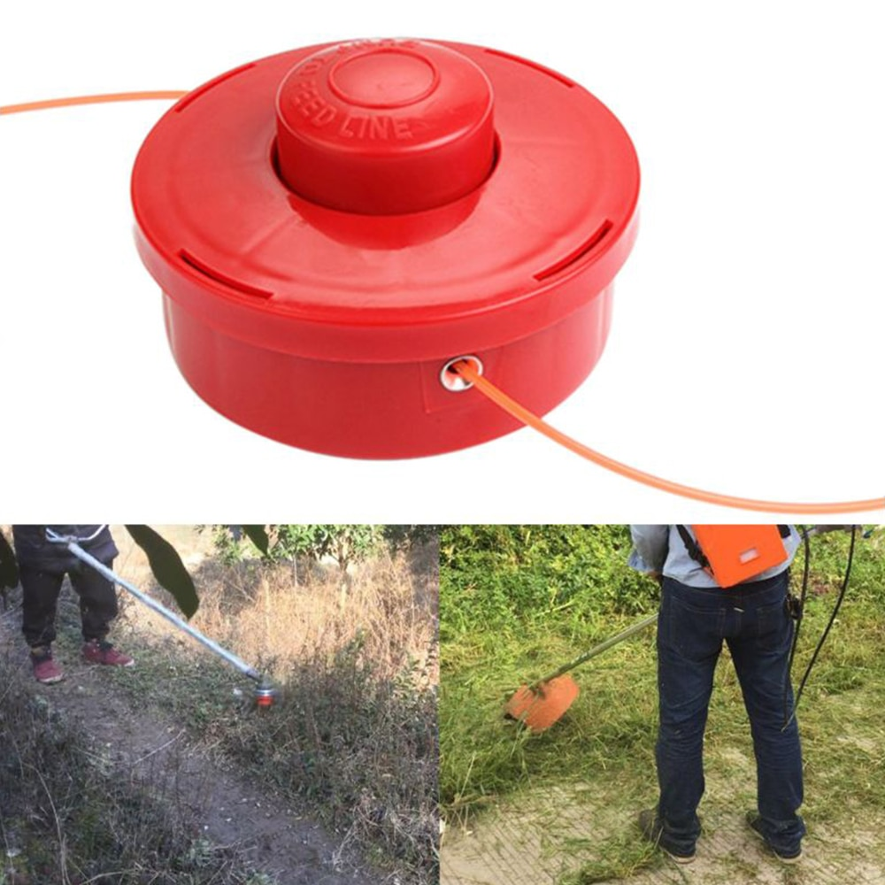 Trimmer Head Replacement Grass Trimmer Bump Feed Line Spool Brush Cutter Grass Lawn Mower Accessories Trimmer Tool Accessories
