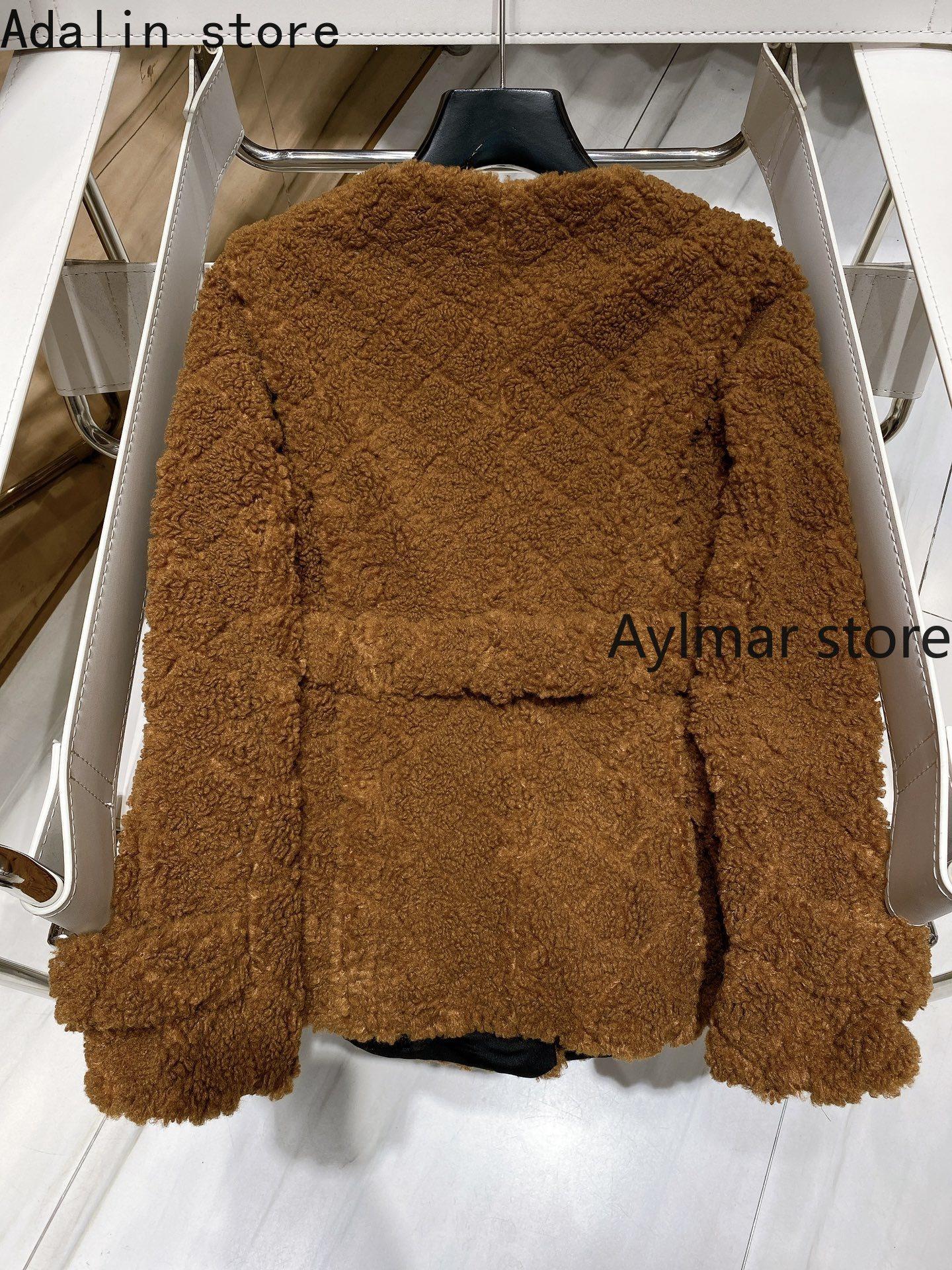2021 luxury design autumn and winter new fashion women's super beautiful Rex Rabbit velvet coat temperament cardigan coat enlarge