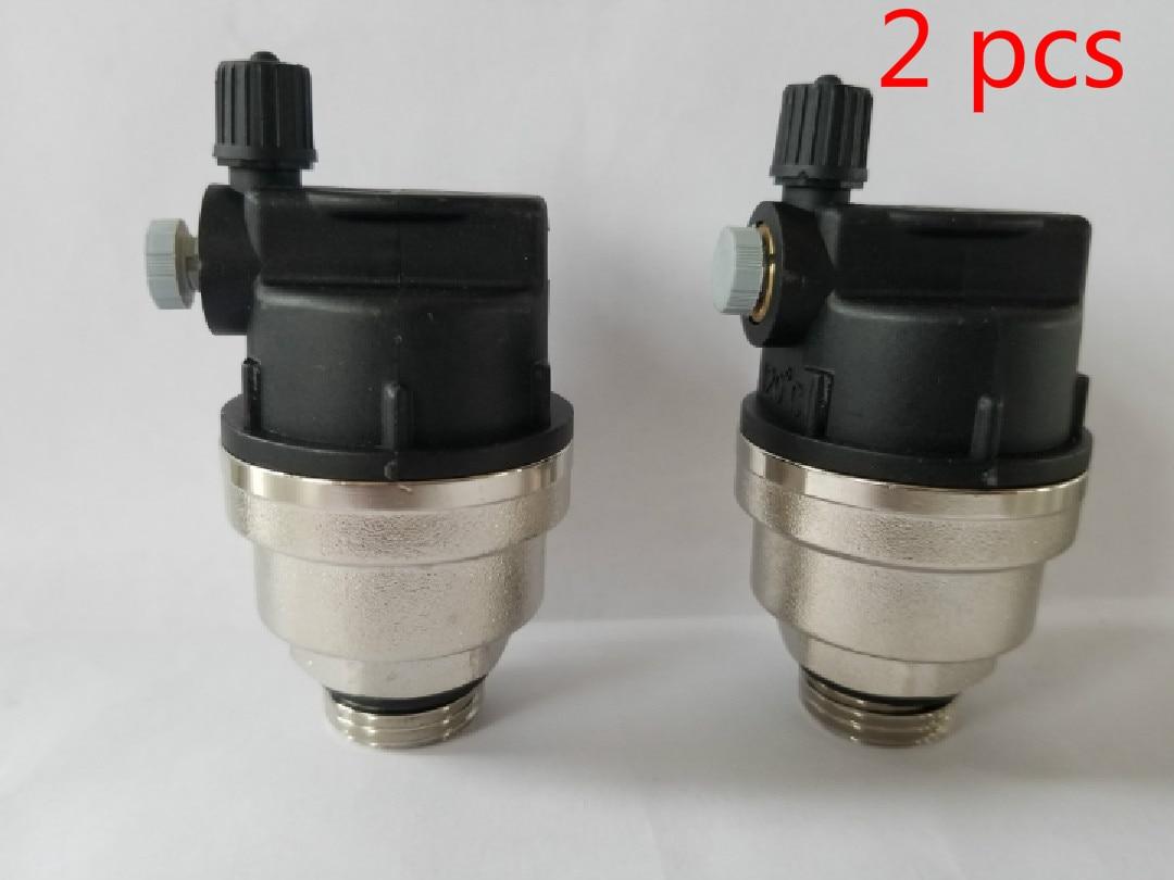 Bronze piso aquecimento separador de água válvula de escape automática válvula de sangramento dn15